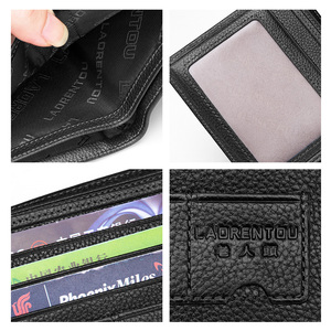 Image 5 - LAORENTOUกระเป๋าสตางค์ผู้ชาย 100% หนังแท้กระเป๋าหนังสั้นVINTAGEวัวหนังเหรียญกระเป๋ากระเป๋าสตางค์กระเป๋าสตางค์มาตรฐานผู้ถือบัตร