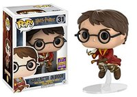 Exclusive Funko Pop Official Harry Potter On Broom 2017 Summer Convention Exclusive Vinyl Action Figure Collectible