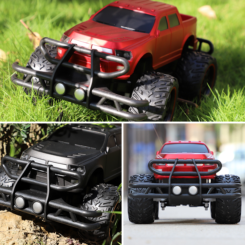 RC Car 2.4G Climbing Car Radio Control Truck Toys 4 Channel Bigfoot Car Remote Buggy Model Off Road Vehicle Toy