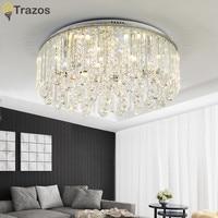 Modern Ceiling Lamp Crystal Living Room Foyer Light Home Lights Lustre Fixtures Restaurant Luminarias Luxury Ceiling Light