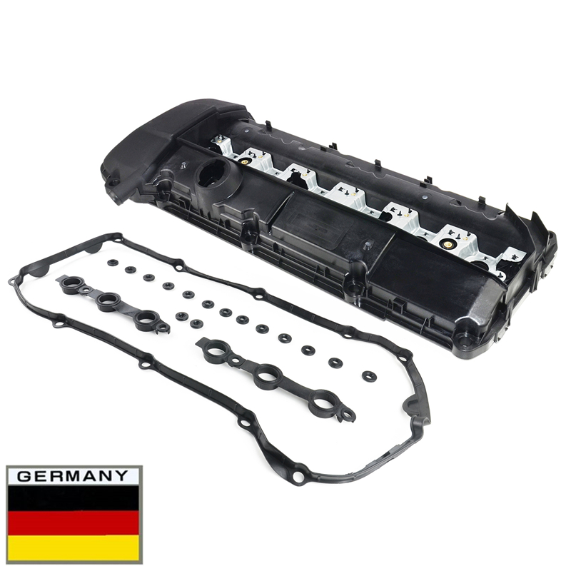 AP03 Engine Valve Cover With Gasket For BMW <font><b>E46</b></font> E39 E38 X5 E53 Z3 E36 Z3 <font><b>325Ci</b></font> 330i ENGINE M54 / M52 11121432928 New image