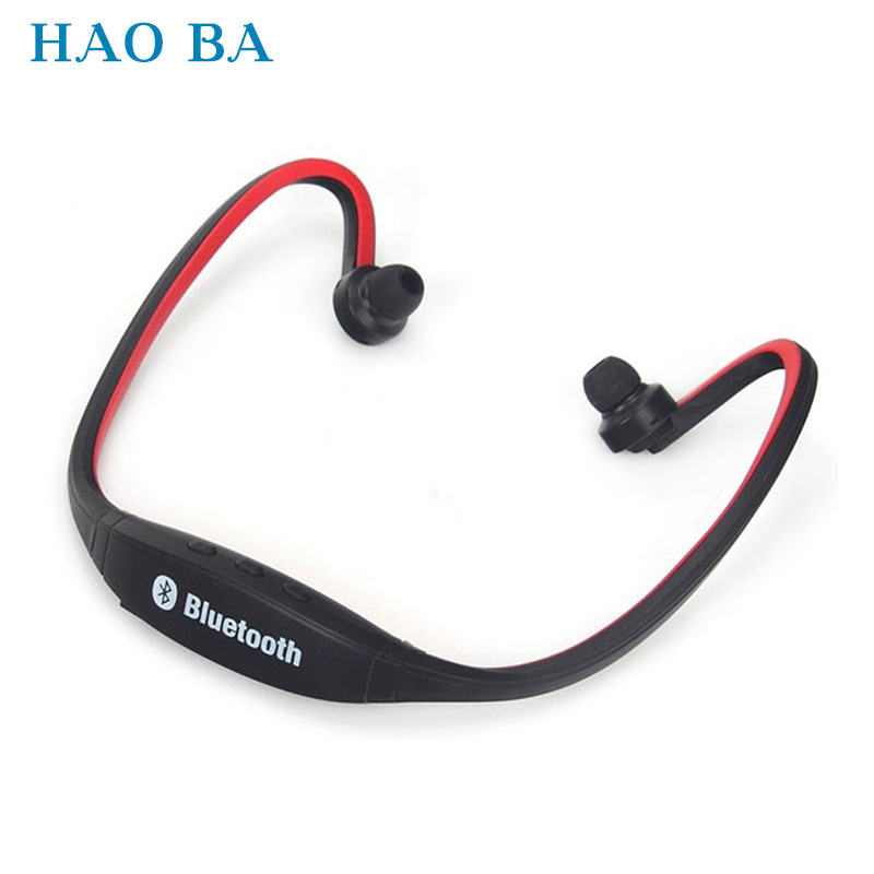 S9 Sports Wireless Bluetooth Headset Handsfree Earphone Running Stereo Bluetooth Headphone Bass For iPhone Samsung Xiaomi HAOBA plufy bluetooth earphone headphone wireless speaker sport headphone bass stereo headset noise cancelling for iphone xiaomi l29