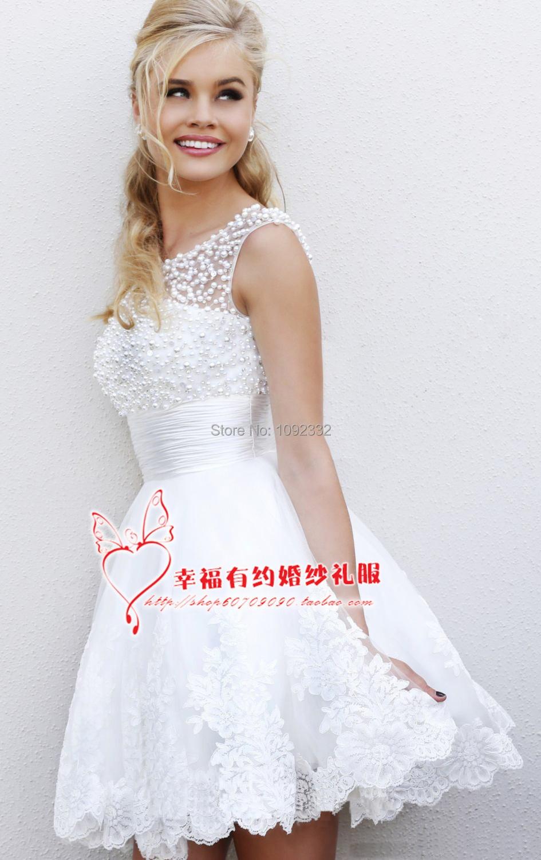Popular Plus Size Short Country Wedding Dresses-Buy Cheap Plus ...