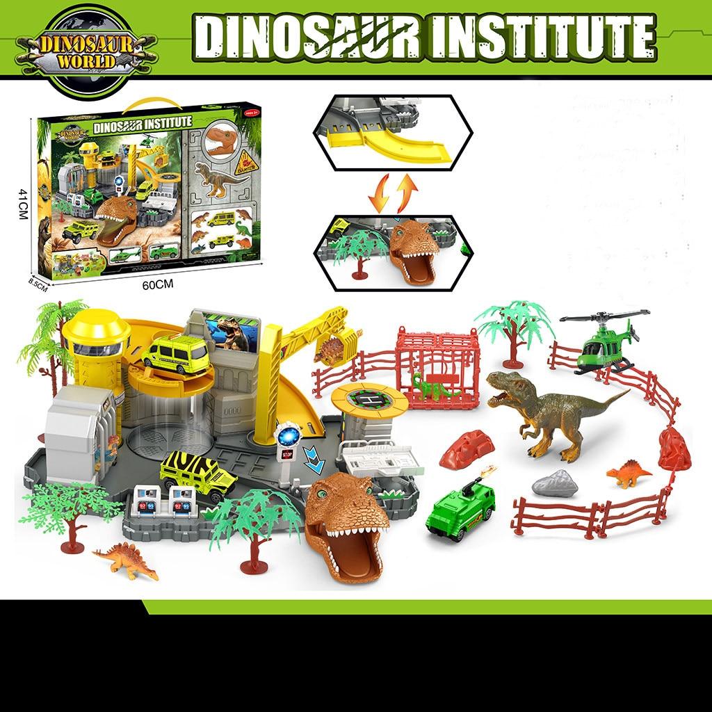 Figurines animales jouets bricolage dinosaure institut de recherche imite dinosaure modèle jouets pour enfants développer des compétences d'apprentissage 2019