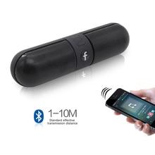 Lesozoh HIFI Portable wireless Bluetooth Speaker Stereo Soundbar TF FM Radio Music Subwoofer Column Speakers for Computer Phones