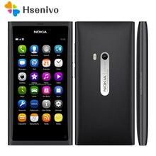 Восстановленное Оригинальное Nokia N9 телефон N9-00 A-GPS WI-FI 3G gsm 8 Мп Камера 16 ГБ внутренний открыл мобильный телефон Бесплатная доставка