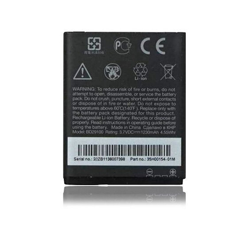 Original BD29100 Battery Mobile Phone Batteries For HTC G13 Wildfire S A510e A510C T9292 HD3 HD3s HD7 PG76100 T9292