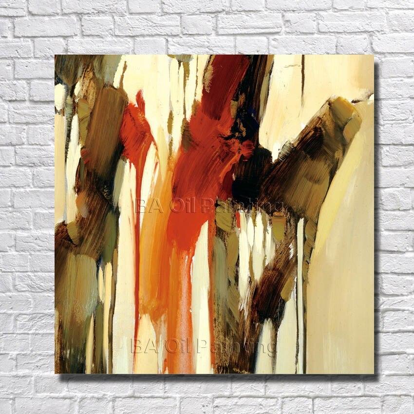 ᐂHermoso pintado a mano pintura al óleo sobre lienzo abstracto ...