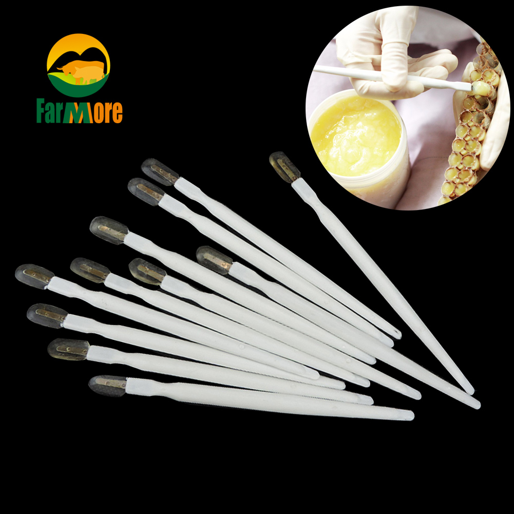 20pcs Beekeeping Tools Take The Pulp Pen Royal Jelly The Second Generation Squeegee Pen Pulp Scraper Pen Bees Appliances