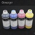 Ocbestjet 500 ml 4 cores de tinta têxtil para epson 1390 r1800 r1900 r2000 R3000 7600 9600 4800 4880 7400 7450 9400 Impressora de Tinta Têxtil
