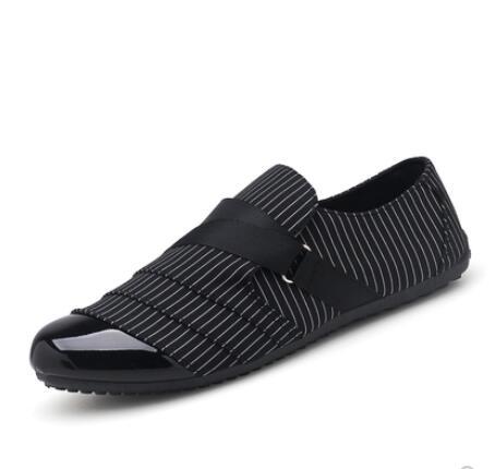 2019 Uomini Di Velluto Scarpe Di Tela Denim Maschile Cestino Zapatillas Uomo Sapato Masculino Slittamento Di Guida Mocassini Mocassini Scarpe Da Tennis Scarpe Basse
