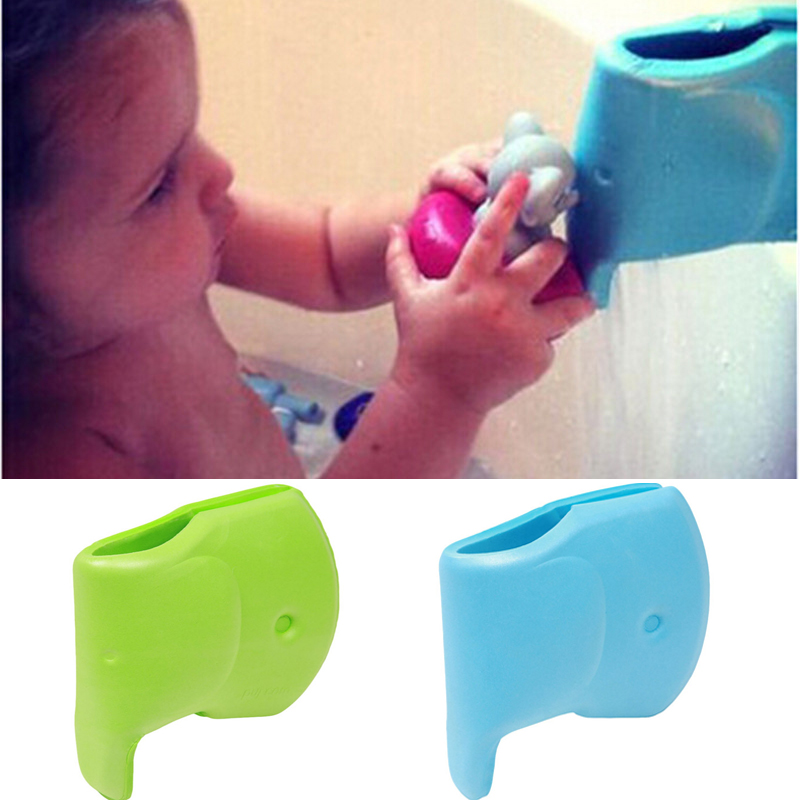 Baby Safety Protector Cartoon Soft EVA Tap Faucet Protection Cover Guards Avoid Scald For Baby Bath