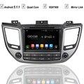 8 Дюймов Dvd-плеер Автомобиля для Hyundai TUCSON IX35 2015 2016 Android 5.1 Радио RDS BLUETOOTH ЗЕРКАЛО ССЫЛКА 3 Г/WIFI RK3188 1024*600 SD