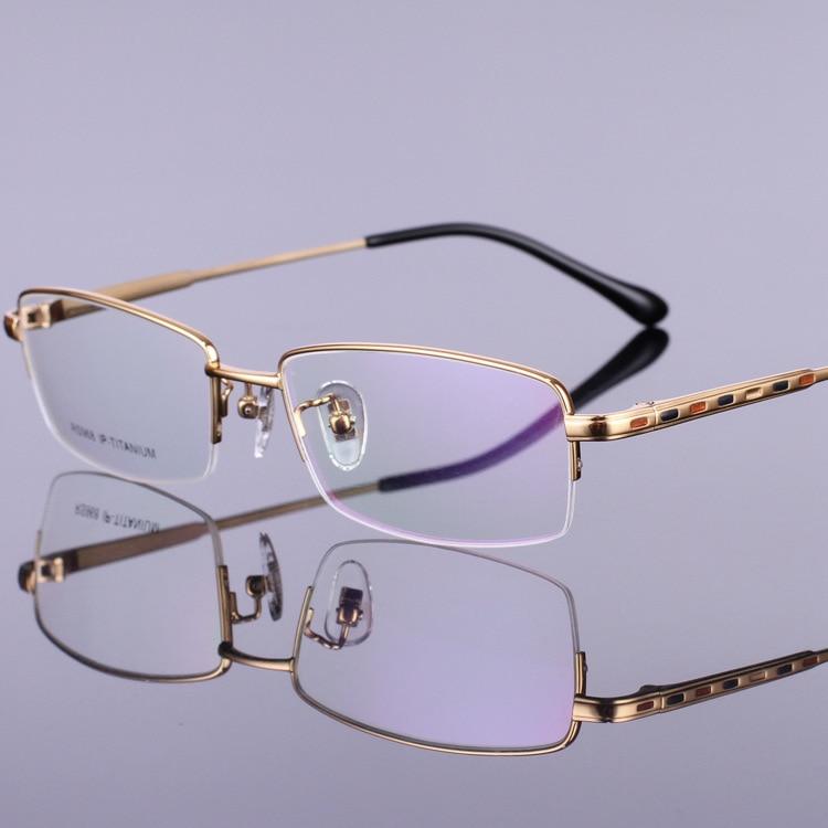 Novi vzorci čistega okvirja očal iz titana, okvirji očala za - Oblačilni dodatki - Fotografija 5
