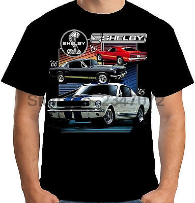 Mens T Shirt Licensed Shelby Cars Muscle Ford GT350 ...