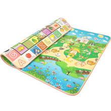 Infant Shining New Tapete Infantil 3cm Thickness Baby Carpet Play Mat Foam Puzzle Mats Crawl Playmat Infant Blanket 200*180cm(China)