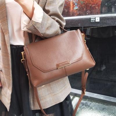 새로운 정품 가죽 가방 디자이너 핸드백 여성 어깨 crossbody 가방 여성 menssenger 가방 토트 bolsas feminina 유명 브랜드-에서숄더 백부터 수화물 & 가방 의  그룹 1