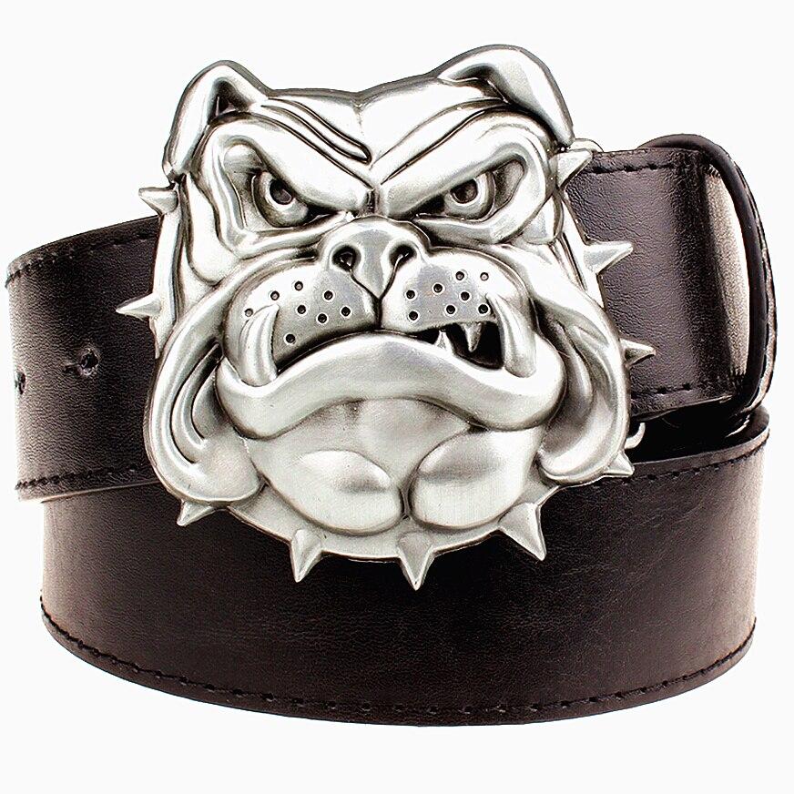 ̿̿̿(•̪ )Moda nueva hombres cinturón hebilla de metal cinturones ...