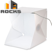 HotSale Camera & Photos Photography Accessories Light Room Photo Studio 9″ Photography Lighting Tent Kit Backdrop Cu.be Mini Box
