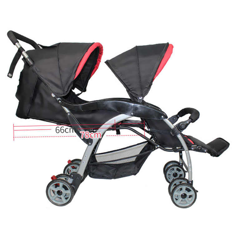 Detail Feedback Questions About Twin Baby Cart Double Umbrella