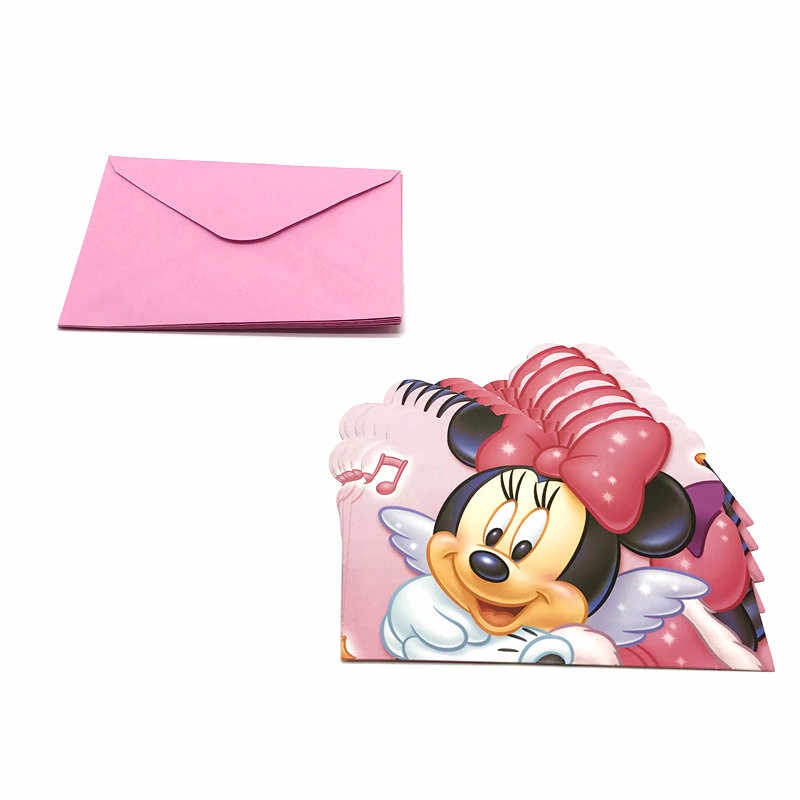 Detail Feedback Questions About Disney Minnie Mouse 6pcs Mini