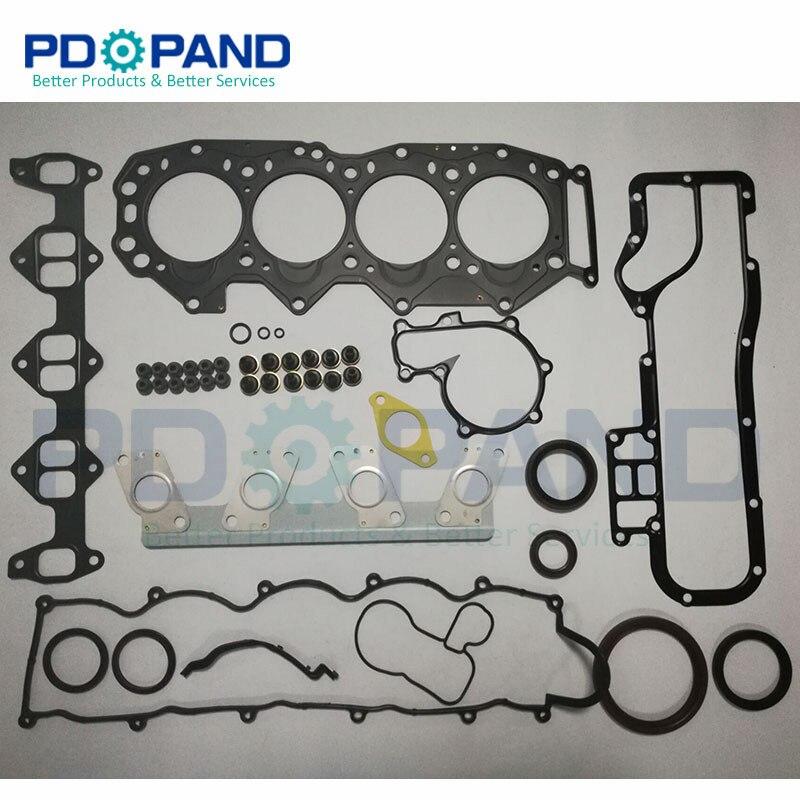 Wl wlt WL T 엔진은 ford ranger 2.5d/td 용 mazda b2500/B SERIE bravo 2.5td 용 전체 가스켓 세트 8asx 10 271 을 재구성합니다.-에서엔진 재조립 키드부터 자동차 및 오토바이 의 PDOPAND Official Store