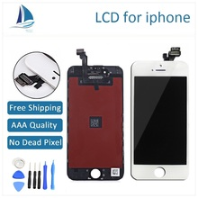 Grade AAA Quality No Dead Pixel for iphone 5 5s 5c 6 plus for Iphone5 for iphone6 LCD display Touch Screen Digitizer Assembly