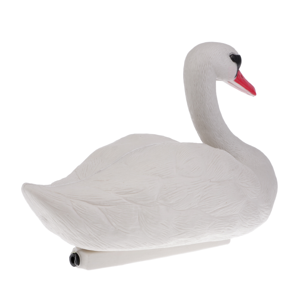 Image 3 - Foldable Floating 3D Swan Hunting Decoy with Weighted Keel Garden Pest Deterrent Repeller Decoration-in Hunting Decoy from Sports & Entertainment
