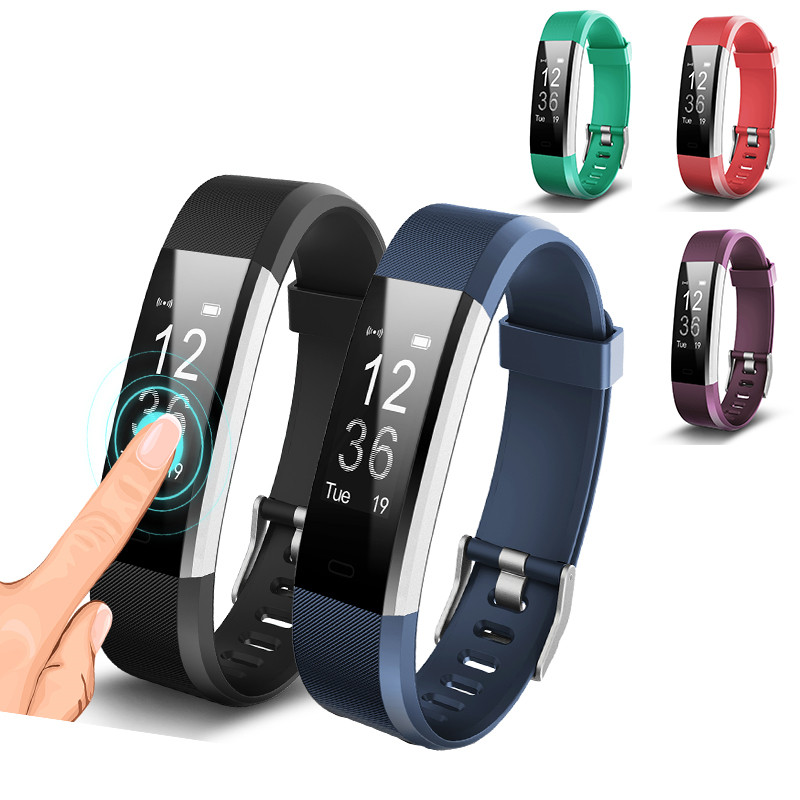 Pulsometer Activity Tracker Fitness Tracker Heart Rate Monitor Fitness Bracelet Step Counter Smart Band Smartband pk fitbits