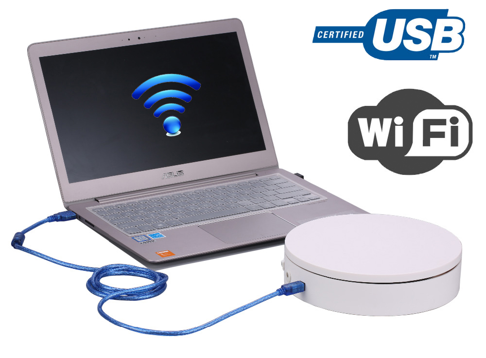 Intelligent Électrique Plaque Tournante pour la photographie, connecter via WIFI, USB Plug, Soutenir Le Développement Secondaire