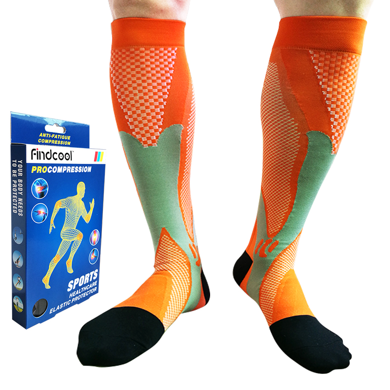 b4e2e7a107e Detail Feedback Questions about Medium Graguated Compression Knee High Socks  for Women Quick Dry High Quality Calf Support 8813E on Aliexpress.com