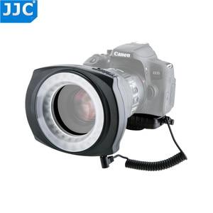 Image 5 - JJC DSLR Camera Flash Video Speedlite Inside/Outside Half/Whole LED Macro Ring Light for NIKON/CANON/SONY/Olymous/Panasonic