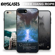 Game of Thrones Got7 logo Tpu Soft Silicone Phone Case Cover Shell For Apple iPhone 5 5S SE 6 6S 6Plus 6sPlus 7 7Plus 8 8Plus X