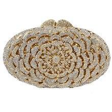 LaiSC Luxus diamant kristall abendtaschen silber dame-parteihandtasche taschen prom handtasche frauen hochzeit tasche soiree pochette SC119