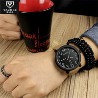 YAZOLE Cute Lovely Cartoon Number Children Watches Fashion Boys Girl Casual Kids Clock High Quality Wholesale