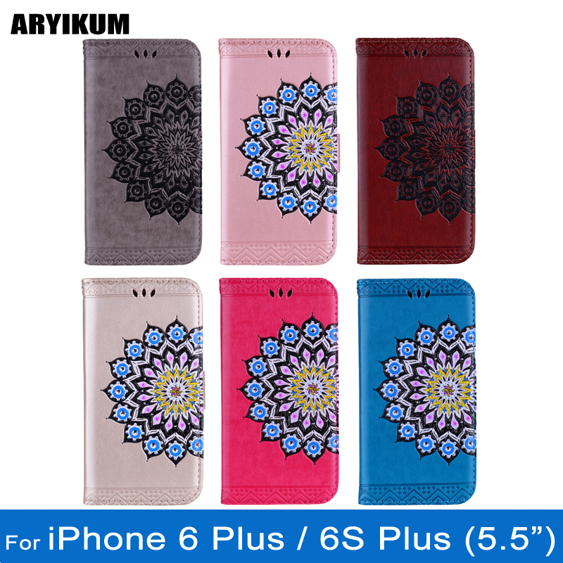 ARYIKUM Leather Case For Coque iphone 6 6s Plus Silicon Back Cover For iPhone Accessories 6Plus Case For iphone 6 s Plus Capinha