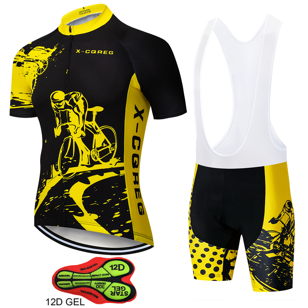 2018 New Top Quality Short Sleeve Mens Cycling Jersey and Bib Shorts Bike Cycling Set Cycling Clothes With 12D GEL Pad Italy2018 New Top Quality Short Sleeve Mens Cycling Jersey and Bib Shorts Bike Cycling Set Cycling Clothes With 12D GEL Pad Italy