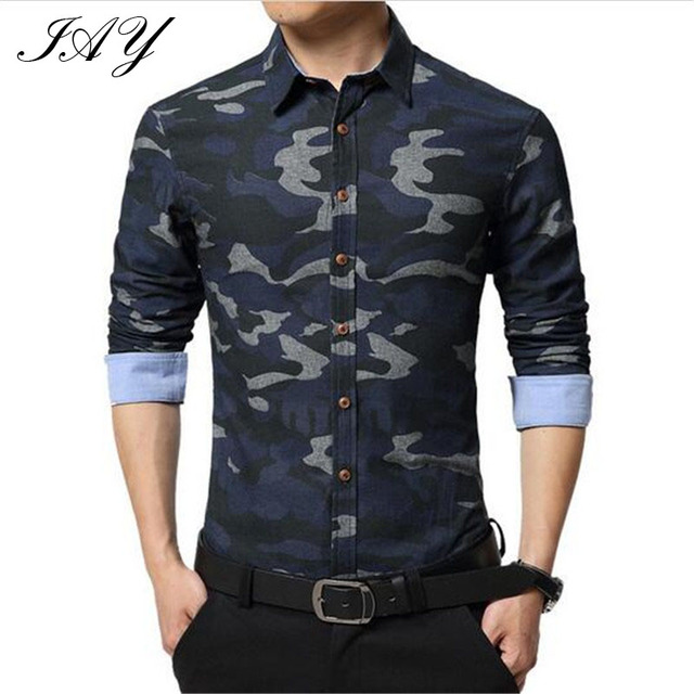 beea9ce8539 2 Color long sleeve Military style men Shirt casual male shirt Man Casual  Camouflage shirt Men Army Tactical Combat casual Shirt