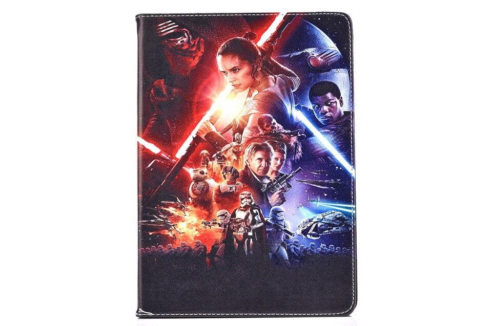 For Ipad mini case New Fashion Movie star wars Cartoon pu leather Stand holder case cover for ipad mini 2 3 case capa