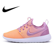 hot sales c222e ec855 Original Official NIKE ROSHE TWO BR Women s Low Top Running Shoes Sneakers  Outdoor Walking Jogging Athletic