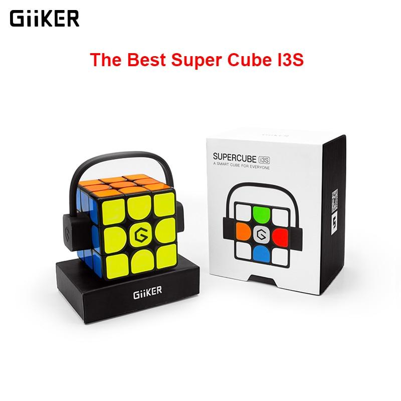2019 versión actualizada Original caliente Xiaomi Giiker Super Rubik cubo I3S inteligente magia magnética Bluetooth APP Sync puzle Juguetes cubo - 6