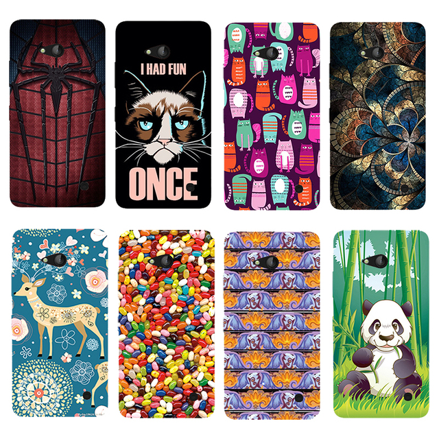 the best attitude 39ede 5319a US $3.18 20% OFF|For Nokia Lumia 730 735 Printed Case Luxury Hard Plastic  Drawing Phone Shell For Nokia Lumia 730 Cartoon Back Cover on  Aliexpress.com ...