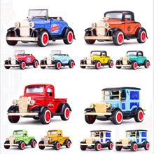 1 36 high imitation Ford pickup convertible model car alloy pull back metal car toy musical