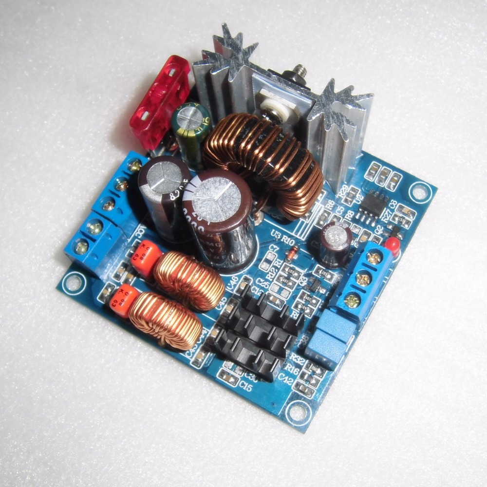 12V Battery Powered Square Outdoor Rod Mobile Audio TPA3116 Digital Power Amplifier Board 100W Single Channel
