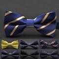 1 Pc Mais Recente Moda Men Boy Bow Tie Dot Clássico lazer Camisas Bowknot Bow Tie Gravatas de Negócios Vestido De Terno De Casamento acessórios