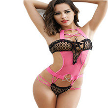 Exotic Apparel Women Baby Dolls sexy lingerie sexy costumes hot underwear lace bandage teddy sex nightdress