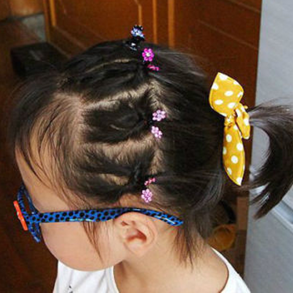 Kawaii Assorted Mini Hair Clips Claws Rhinestone Clamps Kid Girls/' Accessories