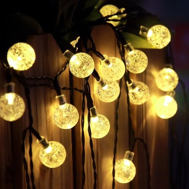 Aliexpress.com : Buy New RGB Led Outdoor String Lights 5M ...