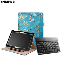 Tablet Case For Lenovo Tab4 10 TB X304F X304N Bluetooth Keyboard Leather Case For Lenovo Tab