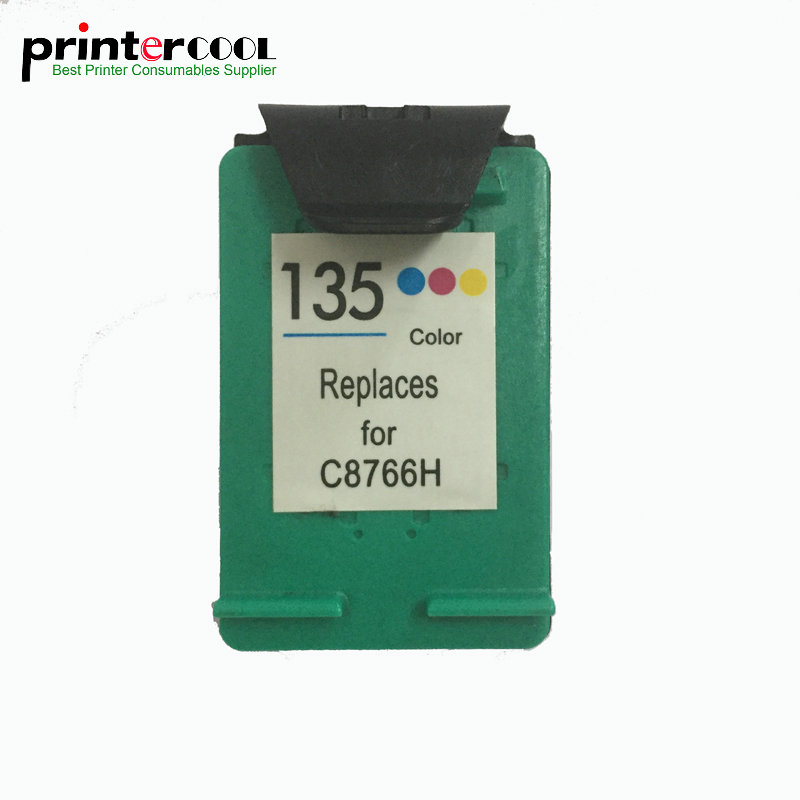 einkshop 135 Remanufactured <font><b>Ink</b></font> Cartridge Compatible for <font><b>hp</b></font> 135 <font><b>C3100</b></font> C3183 C3150 C3180 PSC 1510 1513 1600 1610 2300 printer image